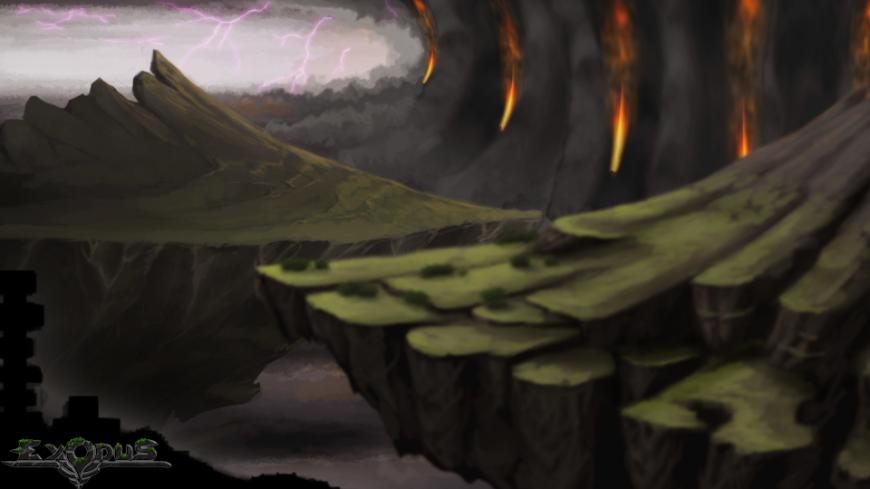 Un bruit sourd, l'éclatement des terres... Le Cataclysme ravage tout.